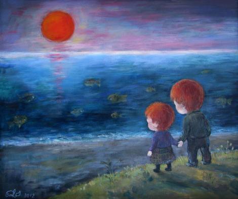 სამი წითელი მზე