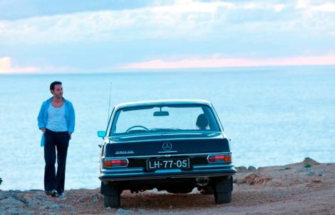 Mercedes-Benz 280 SE im Kinofilm Nachtzug nach Lissabon